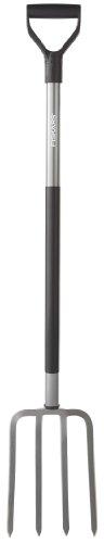 Fiskars 47 Inch Steel D-handle Ergo Garden Fork 333400-1001