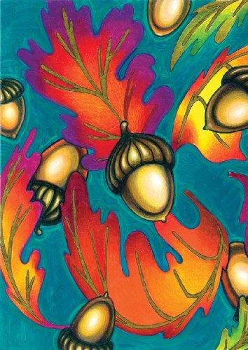 Toland Home Garden  Autumn Acorns 28 X 40-inch Decorative Usa-produced House Flag