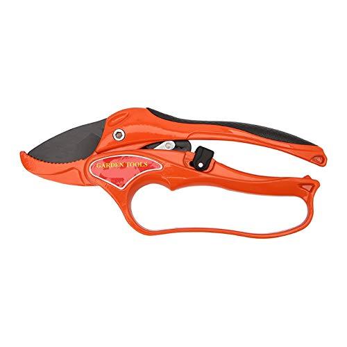 Nrpfell Red Garden Tool Pruning Shear Scissors Fruit Ratchet Secateurs Cutting Branch Cutter