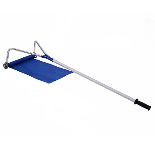 Goplus Roof Rake Snow Removal Tool 20 ft Adjustable Telescoping Handle