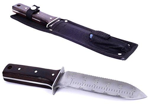 Secret Garden Japanese Hori Hori Knife All Purpose Garden Knife Landscaping Digging Tool With Stainless Steel