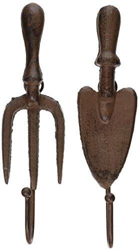 Esschert Design Garden Hooks Shovel and Fork Set of 2