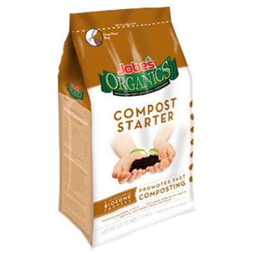 Jobes 09926 Organic Compost Starter 4-pound Bag