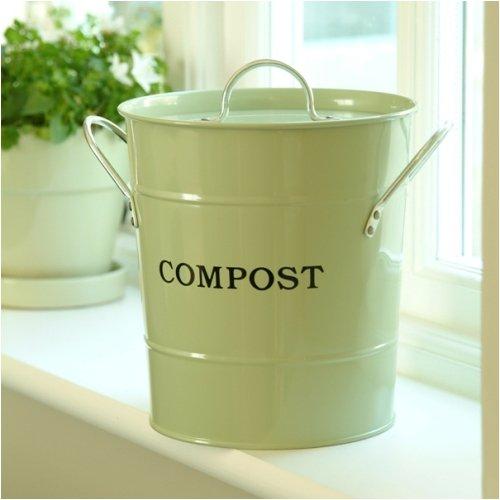 Exaco Cpbg 01 1-gallon 2-in-1 Indoor Compost Bucket Green