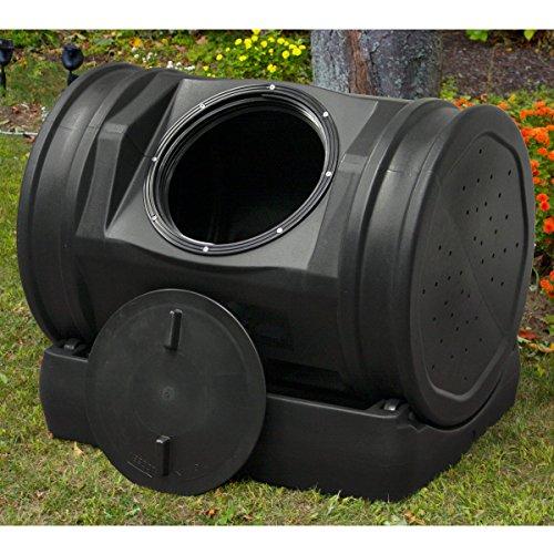 Compost Tea Tumbler Bin Backyard Garden- 52 Gallon 7 Cubic Feet Made Swith 100 Recycled Plastic For Strength