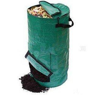 Compost Bags60liter Dark Green Worm Compost Binyard Waste Bags