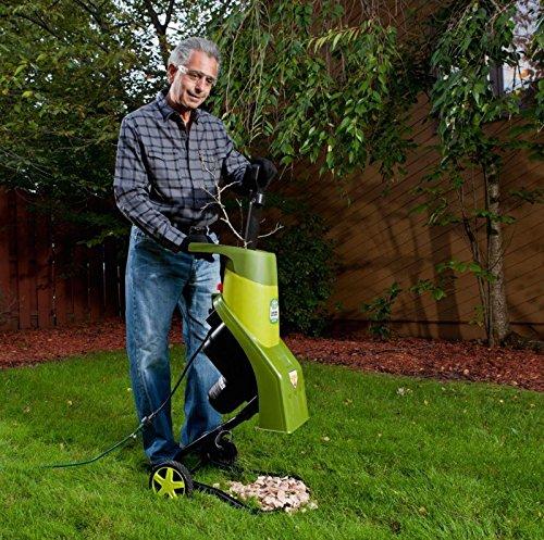 Electric Wood Chipper Shredder Yard Debris Compost Leaf Mulch Outdoor Power Toolgy583-4 6-dfg266324