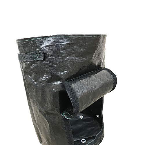 Canyixiu Garden Waste Bags Gardening Planting BagsPlanting BagsPlanting Barrels10 GallonsEnvironmental Garbage BagsLeaf Collecting Bins Pool Garden Leaf Garbage Bag