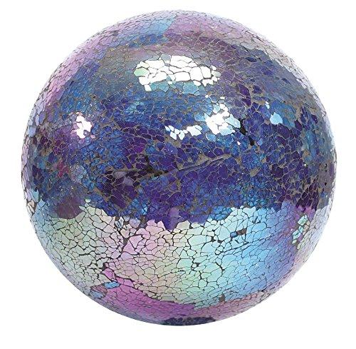 Vcs Glmtbp10 Mosaic Glass Gazing Ball Turquoisebluepurple 10-inch