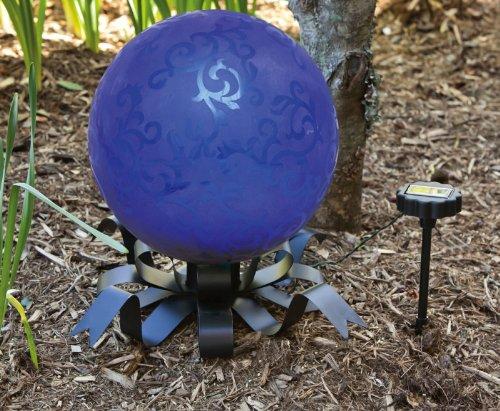 Solar Gazing Ball Stand