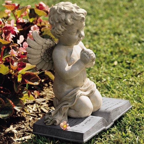 Cherubs Prayer Statue Garden Statues Garden Sculptures Garden Statue People Yard Statues