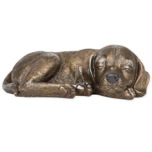 Sleeping Garden Animal Statue Outdoor Yard Figurine dog