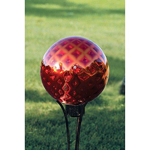 Carson Red Dapple 10 Gazing Ball