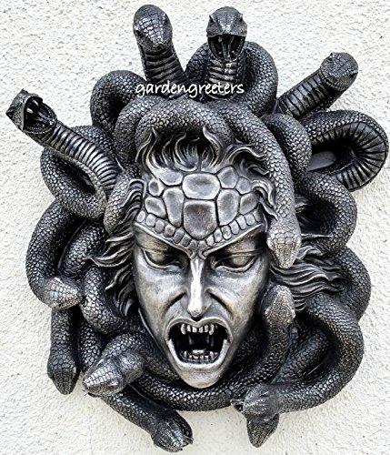 Gorgon Gaze Medusa Wall Plaque Statue ;jm#54574-4565467/341171897