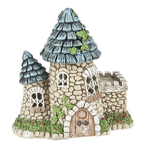 Ganz 575 FairyMiniature Garden Light Up Fairy Tower House