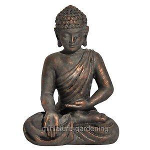 Miniature Fairy Garden Blessings Buddha