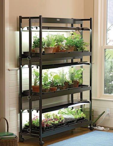 Indoor Grow Light 3-tier Stand Sunlite174 Light Garden