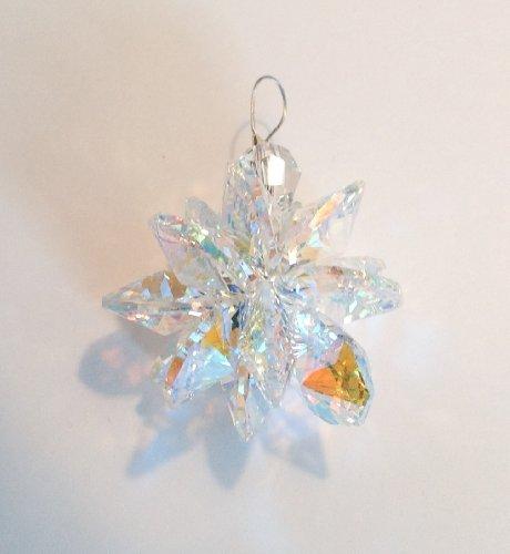 40mm Aurora Borealis Fireball Crystal Prism Suncatcher Ornaments