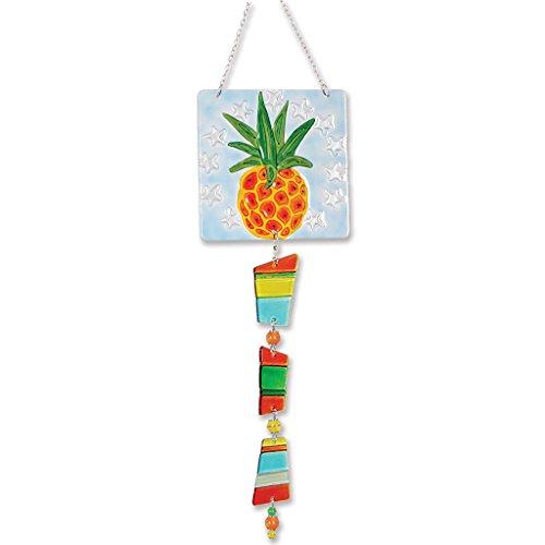 Premier Kites 81105 Glass Sun Catcher Pineapple