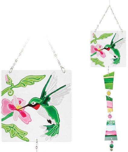 Premier Kites 81106 Glass Sun Catcher Hummingbird