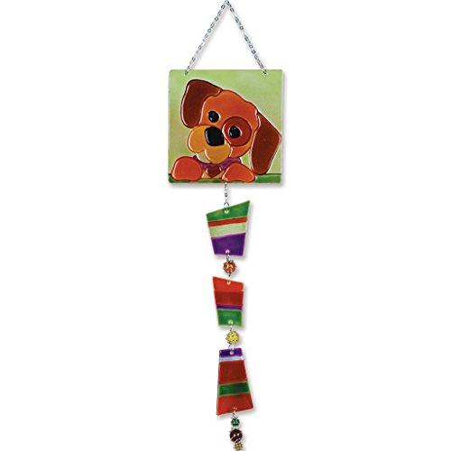 Premier Kites 81121 Glass Sun Catcher Puppy