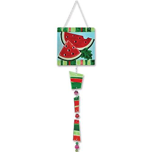 Premier Kites 81124 Glass Sun Catcher Watermelon
