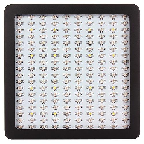 LAPUTA Super Bright 1800W Double Chips LED Grow Light Panel Full Spectrum For Indoor Plant Flower Veg GrowBloom10W180Chips