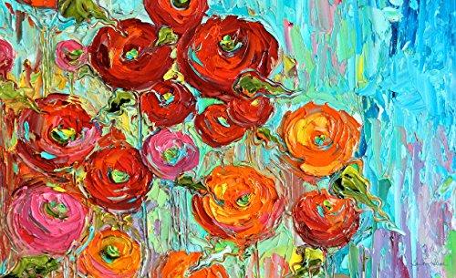 Toland Home Garden Fabulous Flowers Indooroutdoor Standard Mat 18&quot X 30&quot