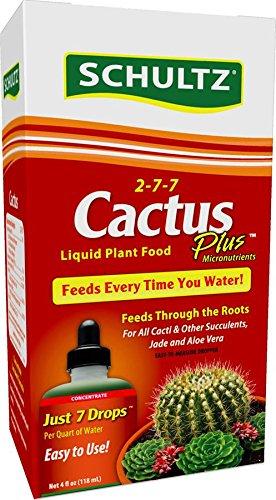 Schultz Cactus Plus Liquid Plant Food 2-7-7 4 Oz