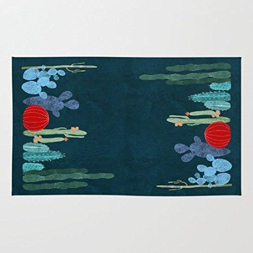 Cactus Garden Doormat Floor Mat Rug Inside Rubber Doormat 236L x 157W