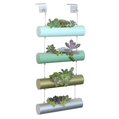 Vertical Garden Succulent Cactus Small Plants Herb Planting Cylinder System Unique Gift Decor Four-Season