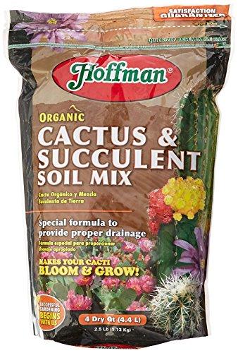 Hoffman 10404 Organic Cactus And Succulent Soil Mix 4 Quarts