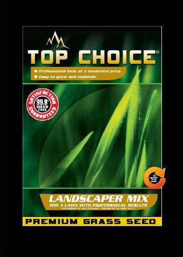 Top Choice 17625 3-way Perennial Ryegrass Grass Seed Mixture 10-pound