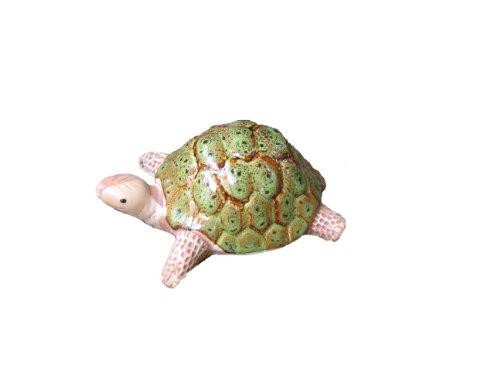 Bosmere W103g Garden Ceramic Lawn Ornament Turtle Green