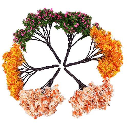 Eboot Fairy Garden Trees Miniature Garden Ornaments Set Of 6