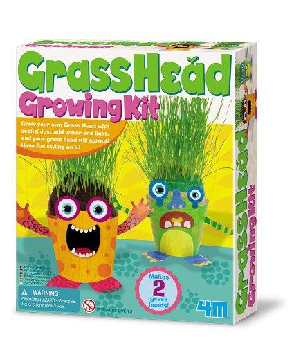 4m Grass Head Growing Kit