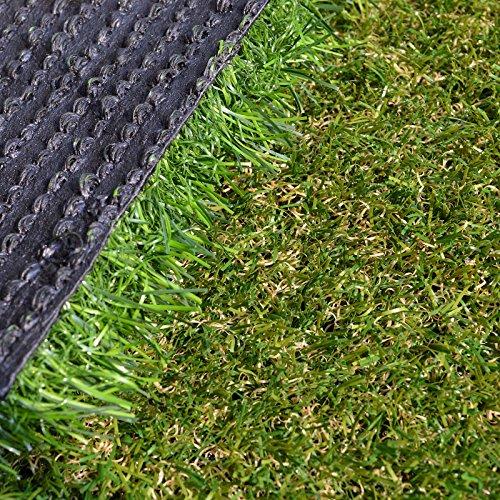 Realistic Indoor Outdoor Garden Premium Artificial Grass Lawn Turf 3 ft x 4 ft