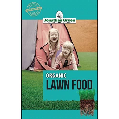 Jonathan Green Organic Lawn Food All Seasons All Grass Types 5000 sq ft Granules 8-0-2