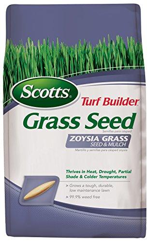 Scotts Turf Builder Zoysia Grass Seedamp Mulch