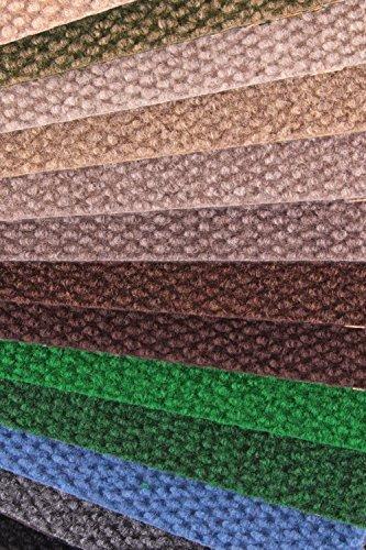 IncStores - Hobnail Carpet Tiles Residential Flooring Self Adhering 18x18 16 Tile Pack 36 Sqft Bark Color Bark Model  Outdoor Hardware Store