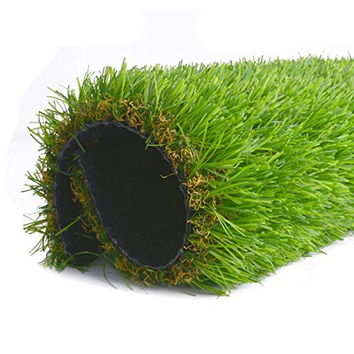 CBEC 65Feet x 10 Feet 65Sqf Faux Artificial Grass Synthetic Lawn Turf Pet Realistic Fake Rug IndoorOutdoor Landscape Green