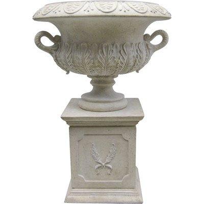Design Toscano Grande Acanthus Sculptural Architectural Garden Urn