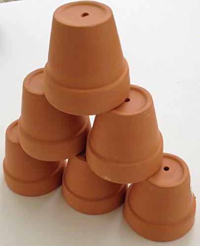 Pennington Mini Flower Pots 2 Terra Cotta 6 Pack