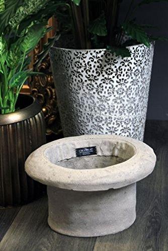 Chapeau Cilindro Cement Pot