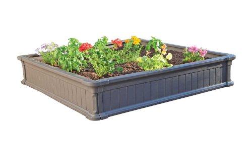 Lifetime 60069 Raised Garden Bed Kit 4 By 4 Feet Pack Of 3