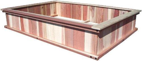 4X6 Garden Box Kit Redwood