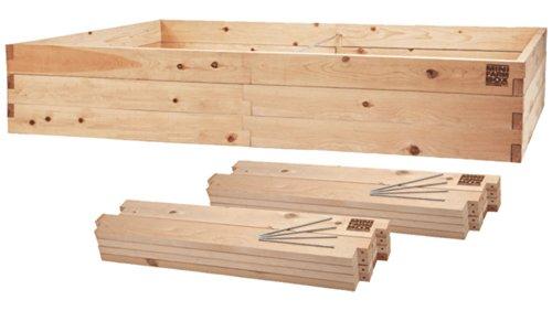 MinifarmBox 4x8x17 Raised Garden Bed Kit