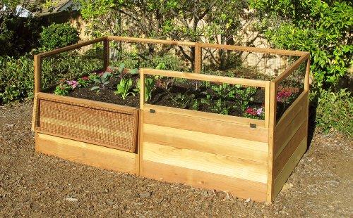 3x6 Rabbit-proof Raised Garden Kit
