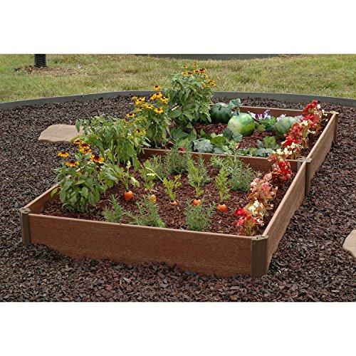 Greenland Gardener Raised Bed Garden Kit - 42&quot X 84&quot X 8&quot