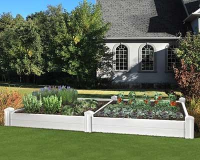 Eden Versailles Deluxe Raised Garden Planter Bed 10L
